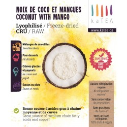 Organic Freeze Dried Coconut with mango (2 x 5 kg)